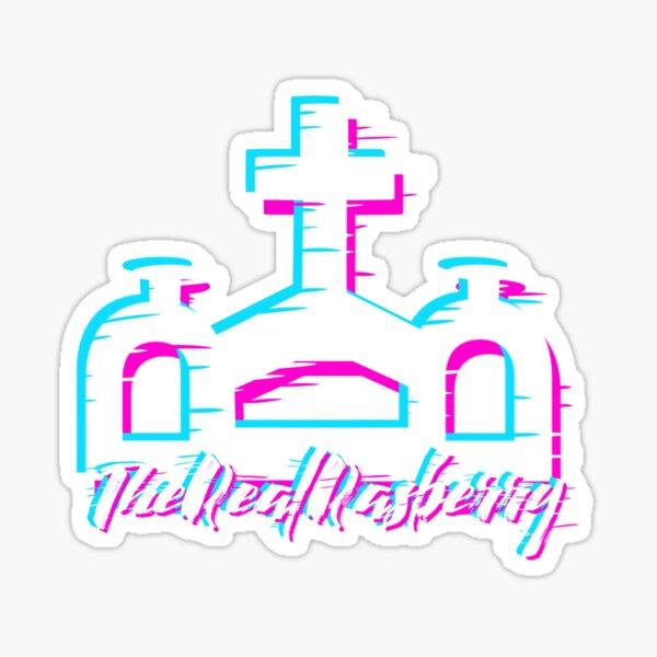 Logotipo de TheRealRasberry Pegatina