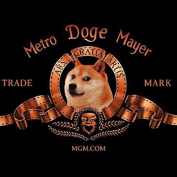 Logotipo de la película Metro Doge Mayer de Doge21