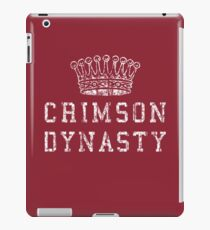 Crimson Dynasty iPad Case/Skin