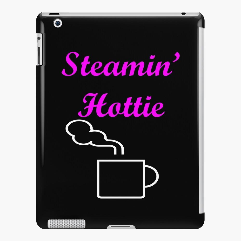Steamin Hottie Pink iPad Case & Skin