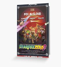Lylat - Star Fox Zero Greeting Card