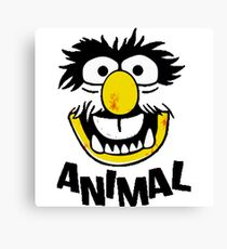 Animal Muppets Canvas Print