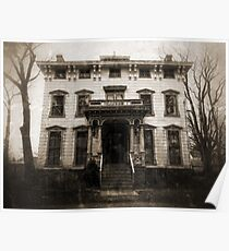 Spooky Mansion Poster