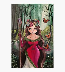 The Druid Girl Photographic Print