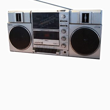 Sanyo Stereo AM FM Radio Cassette Player by synthmax