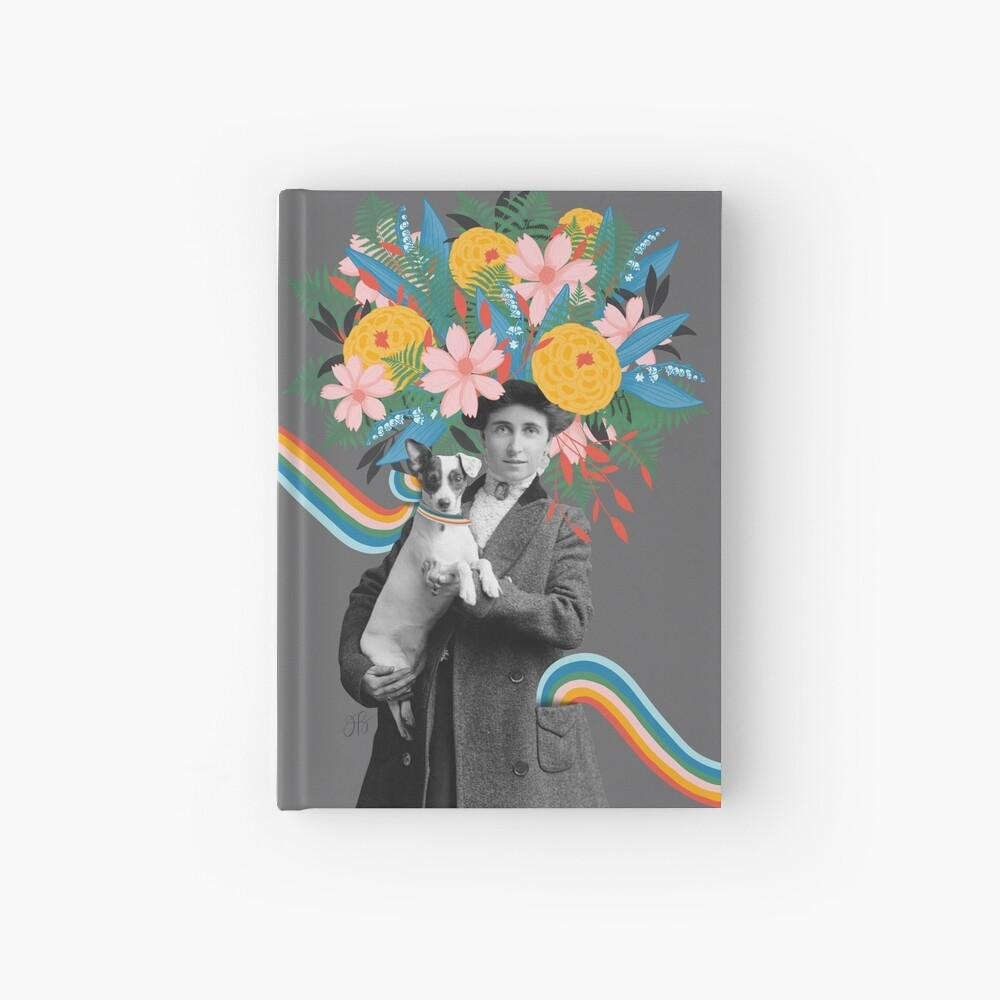 Rainbows In My Pockets Hardcover Journal