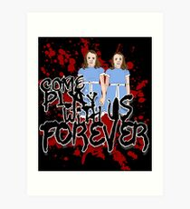 Come Play WIth US Art Print