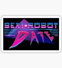 Sexy Robot Date Sticker
