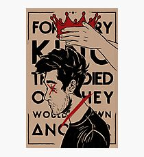 for every king that died Photographic Print