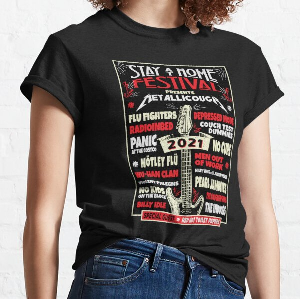 Quarantine Social Distancing Stay Home Festival 2021 Classic T-Shirt