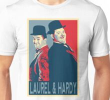 LAUREL AND HARDY, HOPE POSTER Unisex T-Shirt
