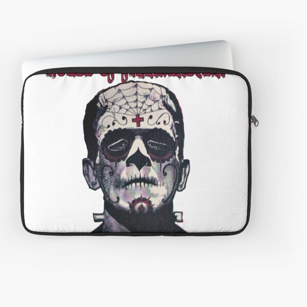 House of Frankenstein Boris Sugar Skull Laptop Sleeve