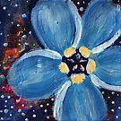 Flower Series 1: Inner Power Paintings by mellierosetest