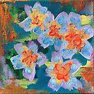 Flower Series 3: Inner Power Paintings by mellierosetest