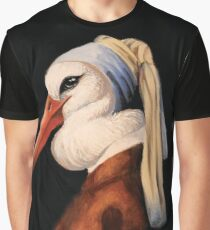 Bird with No Earring Graphic T-Shirt