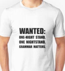 Nightstand Grammar T-Shirt