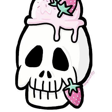 Sugar Skull - no swirl by thephantomfly