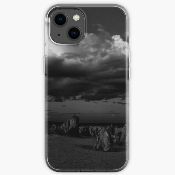 Stormy Skies Over The Pinnacles iPhone Soft Case