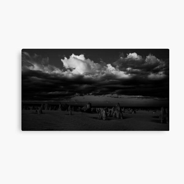 Stormy Skies Over The Pinnacles Canvas Print