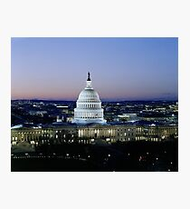 Capitol in Washington DC Photographic Print