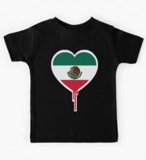 MEXICAN BLEEDING HEART Kids Tee