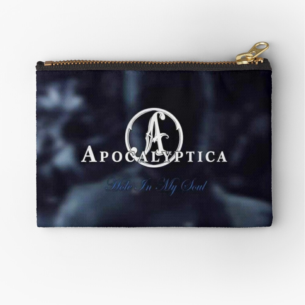 apocalyptica's 11 The band most legendary trio popular music rock metal Zipper Pouch