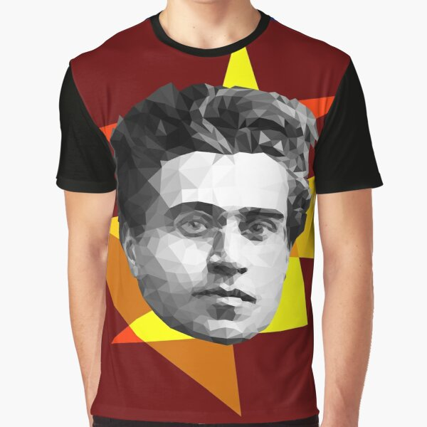 Gramsci kinda looked like a hipster, right? Graphic T-Shirt