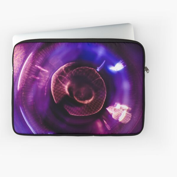 Glass Iris Laptop Sleeve