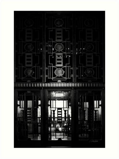Doors to City Hall by Nathan Little