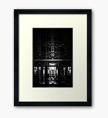 Doors to City Hall Framed Print