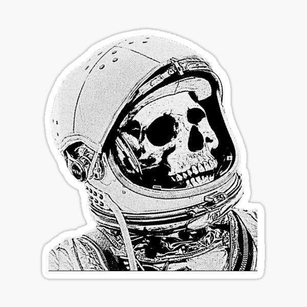 Death On Mars Sticker