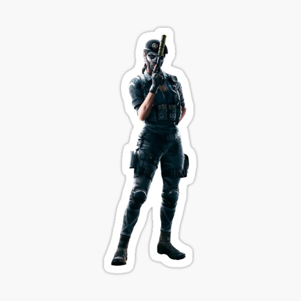 Caveira Rainbow Six (Photo 01) Sticker