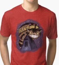 Catbus (Colour Version) Tri-blend T-Shirt