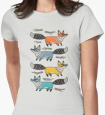 Foxes Women's Fitted T-Shirt