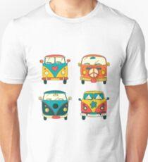 Hippie camper vans Unisex T-Shirt