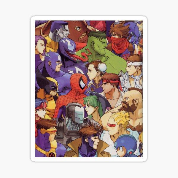 Capcom Sticker