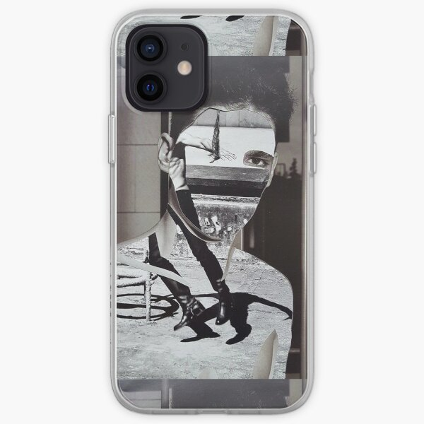 Collage Face CutOut iPhone Soft Case