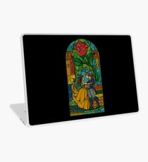 Beauty and The Beast - Stained Glass Laptop Skin
