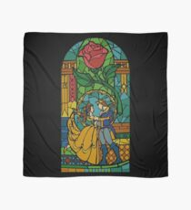 Beauty and The Beast - Stained Glass Scarf