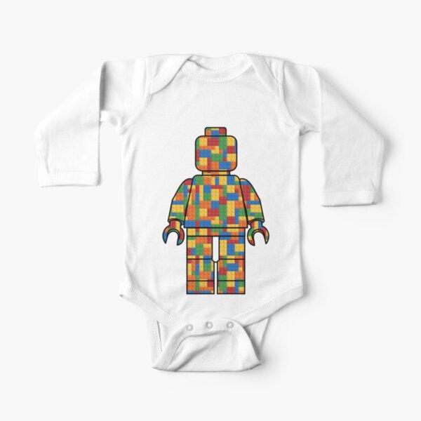 LegoLove-Bausteine Baby Body Langarm