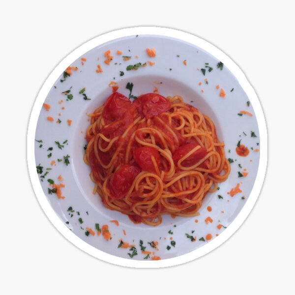 Spaghetti Sticker Sticker