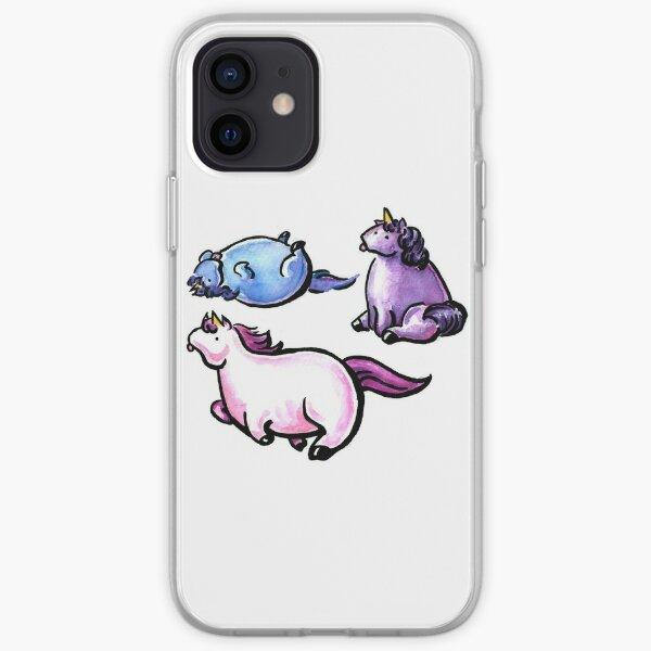 Chubby Unicorns iPhone Soft Case