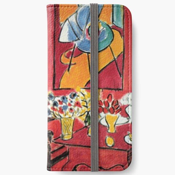 Grand Interieur Rouge Matisse 1948 iPhone Wallet