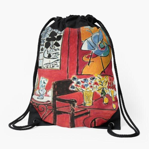Grand Interieur Rouge Matisse 1948 Drawstring Bag