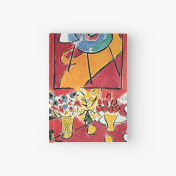 Grand Interieur Rouge Matisse 1948 Hardcover Journal
