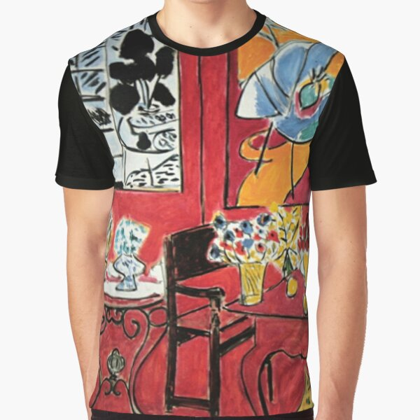 Grand Interieur Rouge Matisse 1948 Graphic T-Shirt