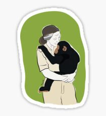 Dr Jane Goodall Sticker