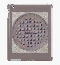 The Sewer  iPad Case/Skin