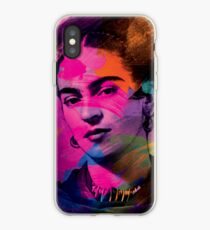 Frida Kahlo Colors iPhone Case