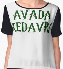 AVADA KEDAVRA!!! Women's Chiffon Top